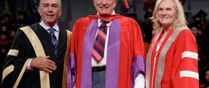 Rudolph Bratty Receives Honourary Doctor of Laws