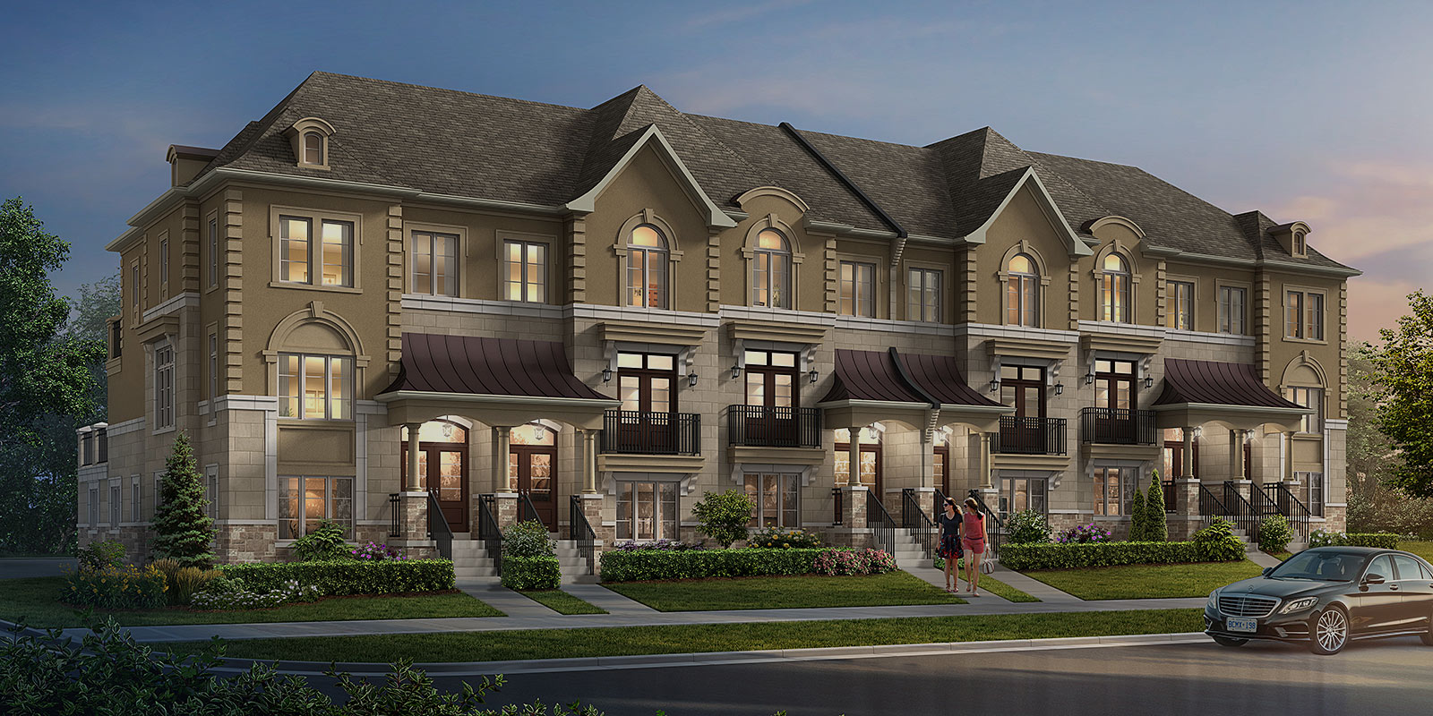 Coming Soon: Three-bedroom Executive Towns in Thornhill