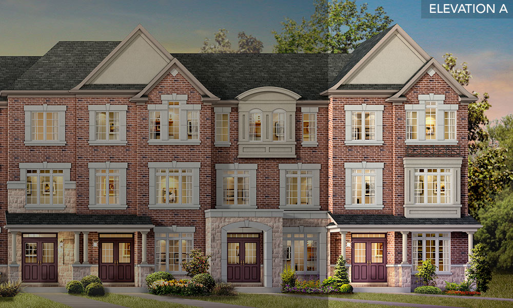 The Beech - Brookside Towns - Remington Homes
