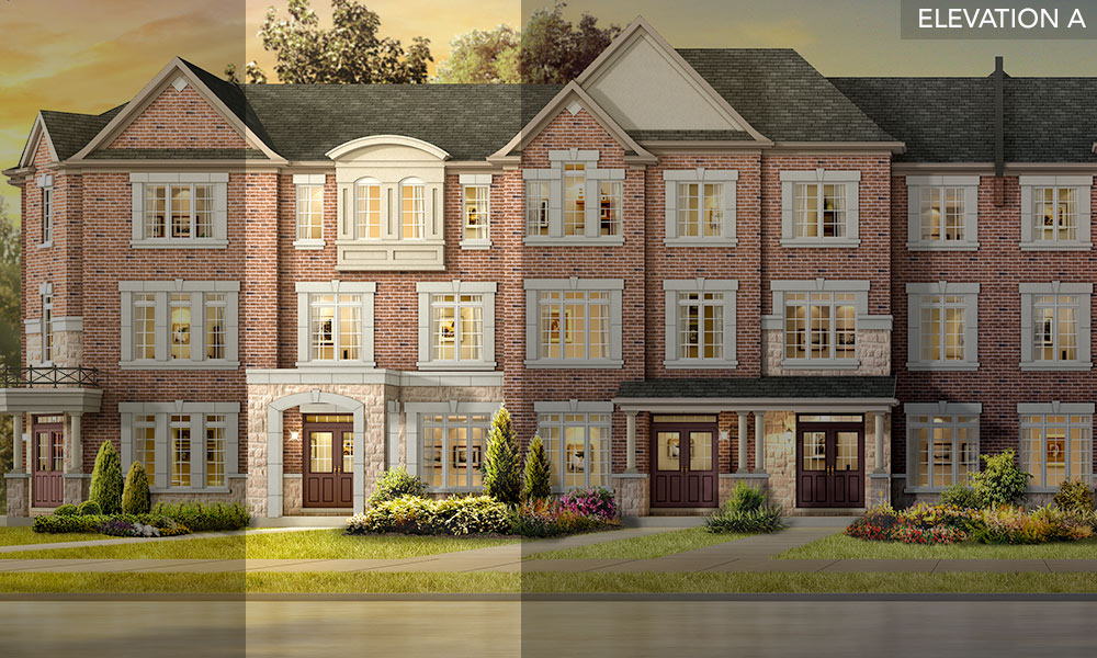 The Birch - Brookside Towns - Remington Homes