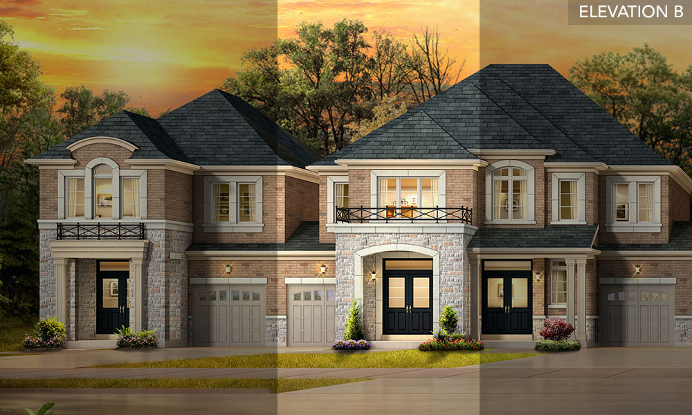 The Juniper - Brookside Towns - Remington Homes