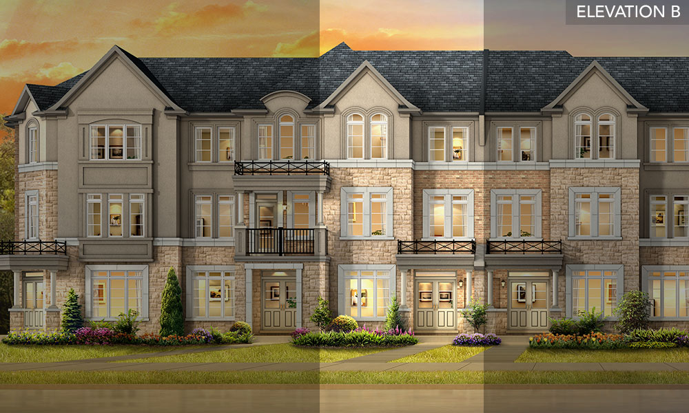 The Larch - Brookside Towns - Remington Homes
