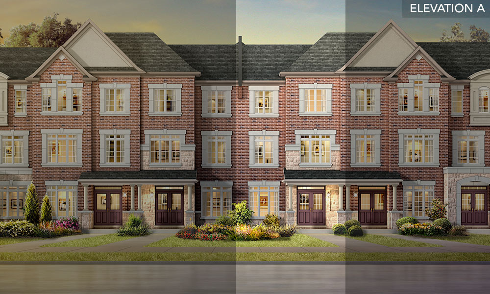 The Willow - Brookside Towns - Remington Homes