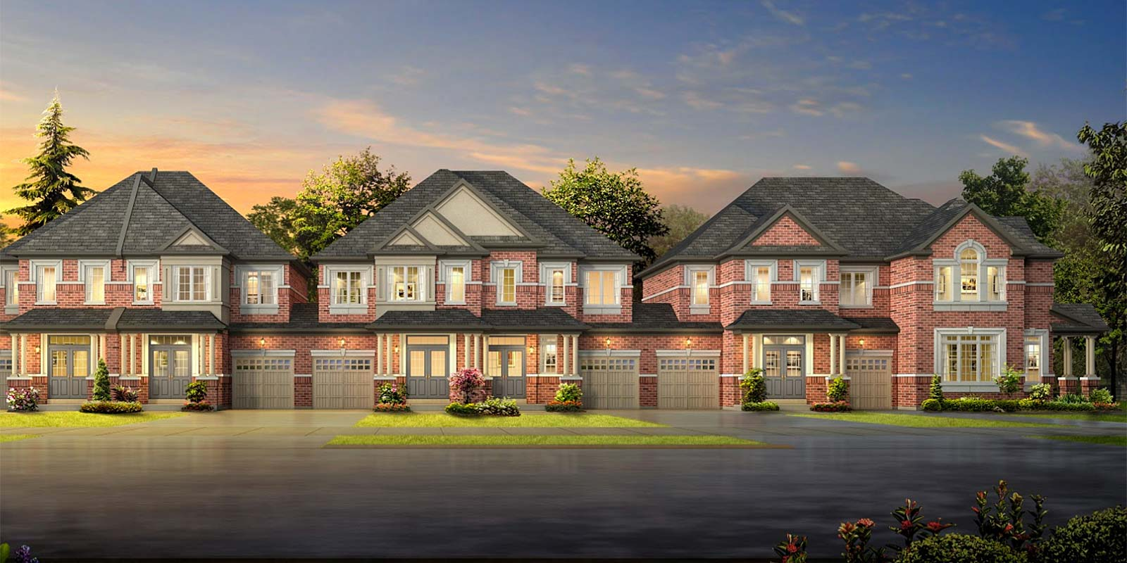 Available now: New townhouse blocks at The Preserve priced at the $700s
