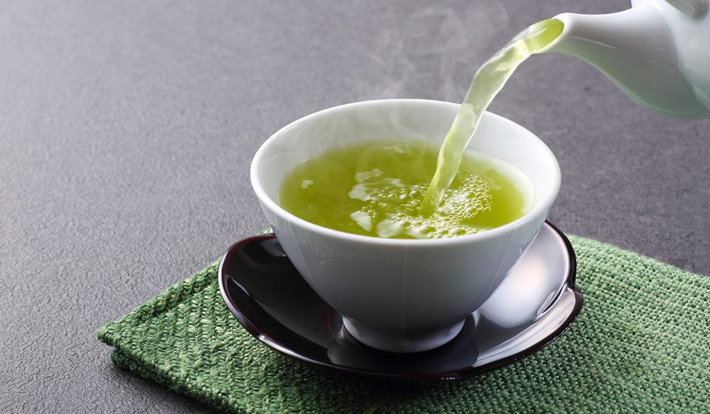 Savour some green tea to de-stress